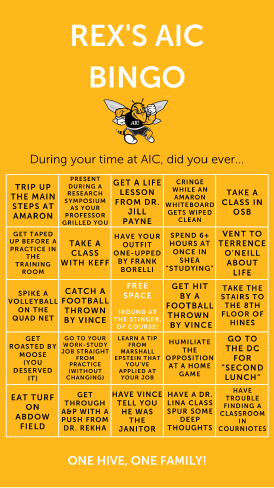AIC Bingo