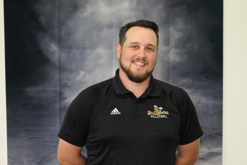 Director of Volleyball Matthew Cribbin