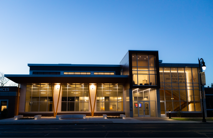 The Colaccino Center for Health Sciences at American International College